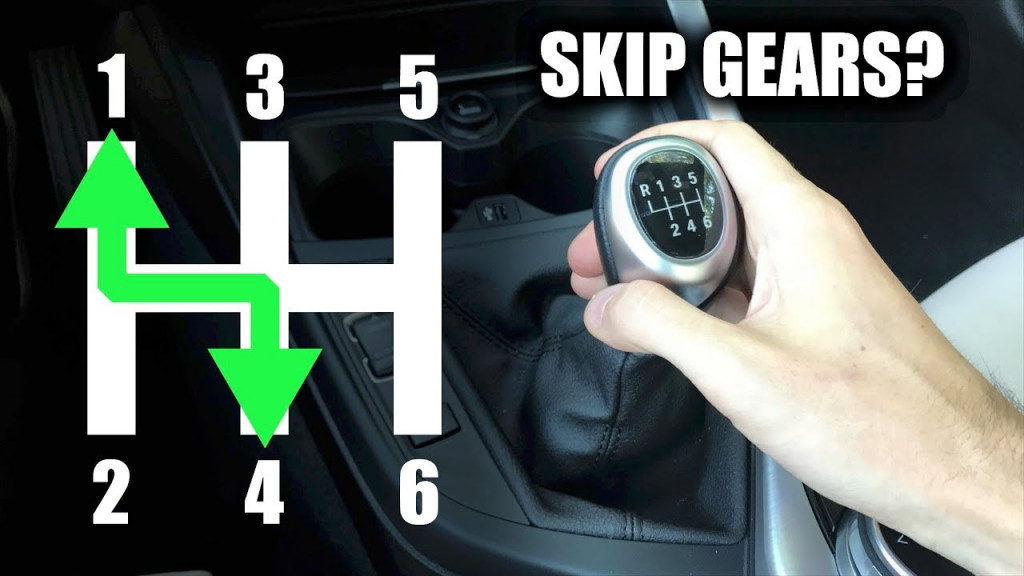 how to downshift a manual car smoothly