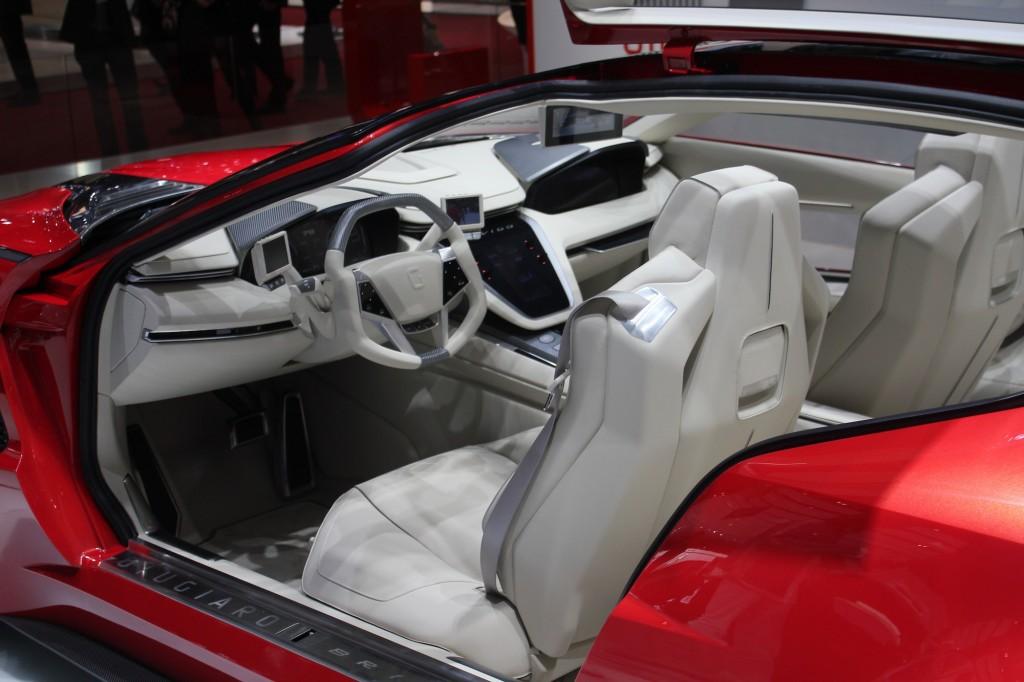 Italdesign Giugiaro Brivido Concept 2012 Geneva Motor Show