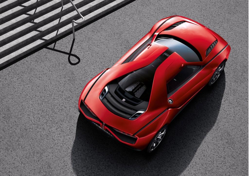 Italdesign Giugiaro Parcour concept car