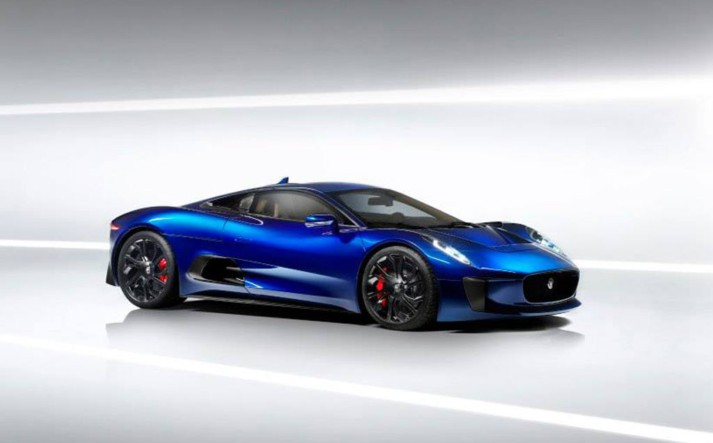 Jaguar Revisits Stillborn C Supercar Video