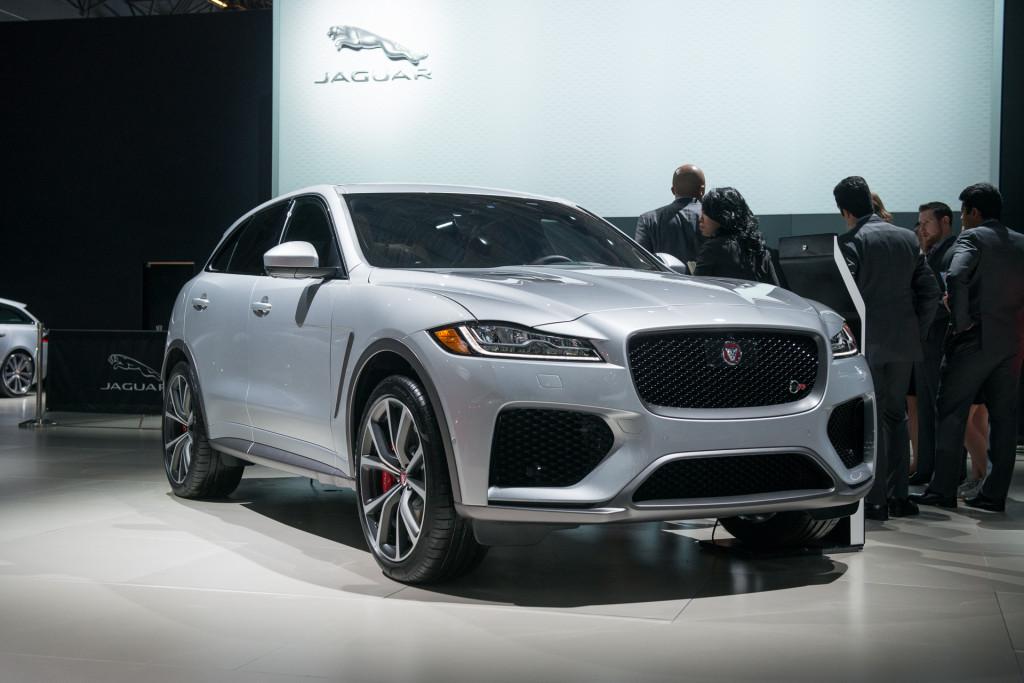 2019 Jaguar F-Pace SVR, 2018 New York auto show