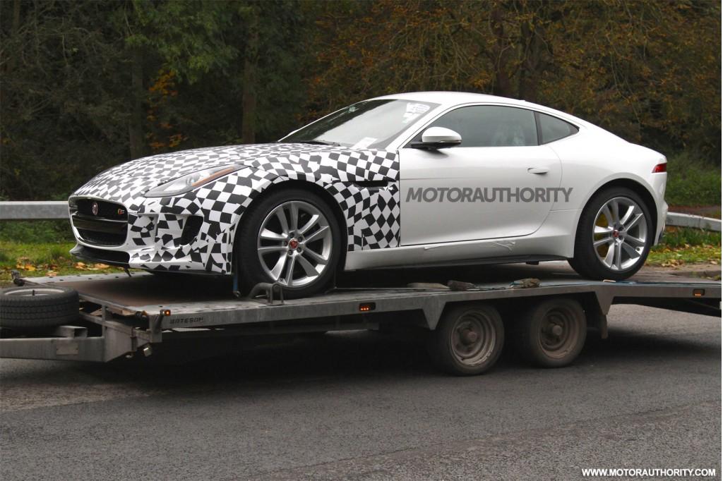 All Wheel Drive Cars List >> Jaguar F Type All Wheel Drive Spy Shots