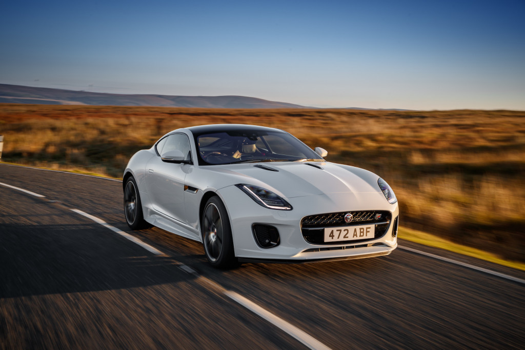 Jaguar F-Type to receive electrification, digital dash