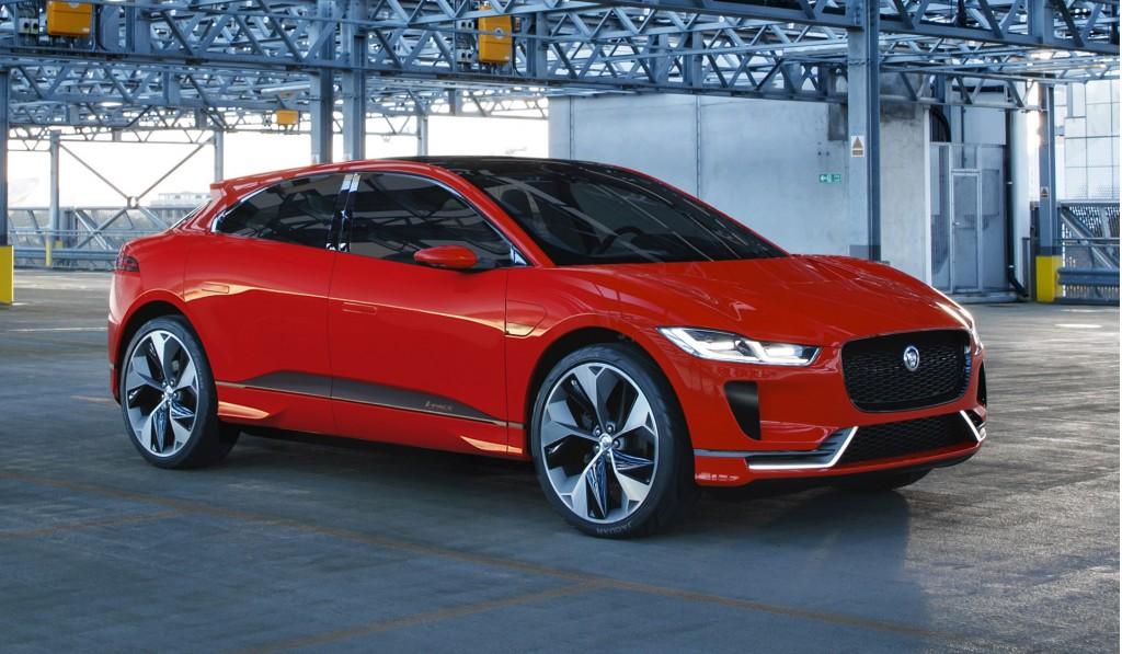 Jaguar I-Pace concept, 2016 Los Angeles auto show
