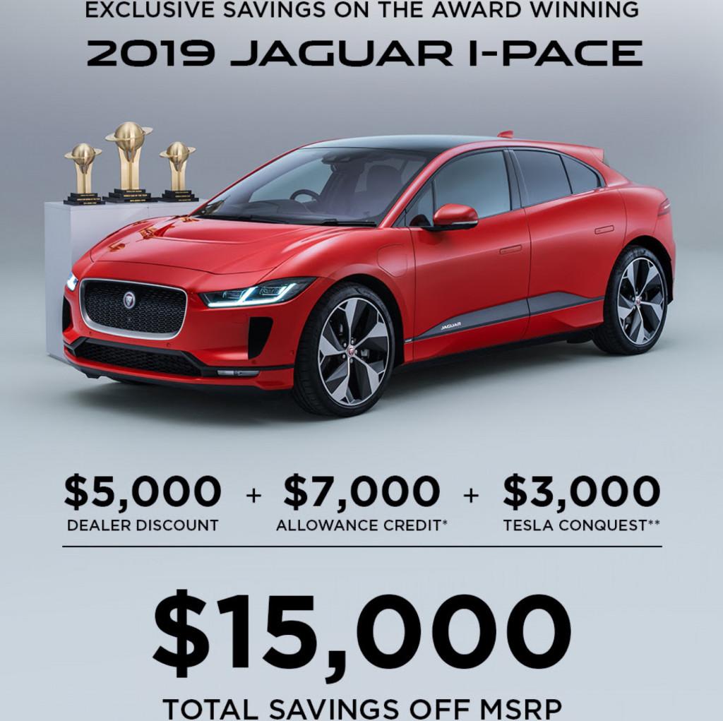 2019 Jaguar E Pace: Flipboard: Jaguar Woos Tesla Owners With $3,000 I-Pace EV