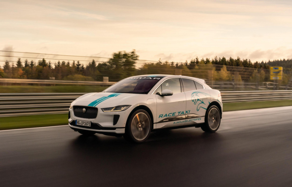 Jaguar I-Pace delivers silent horror as first electric 'Ring taxi