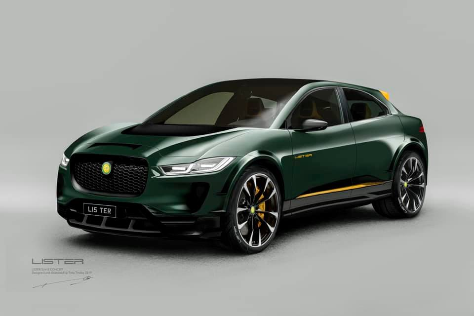 Lister ready to tune the Jaguar I-Pace