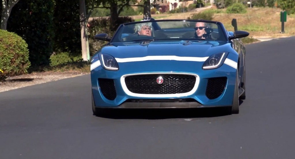 Jaguar Project 7 on Jay Leno's Garage