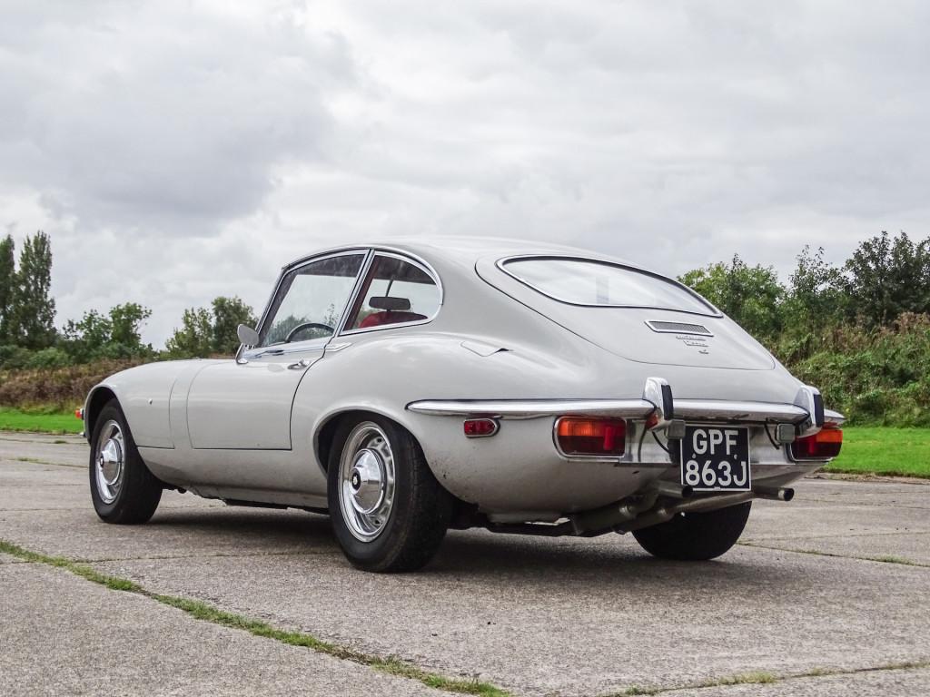 First left-hand drive 1971 Jaguar E-type 2+2