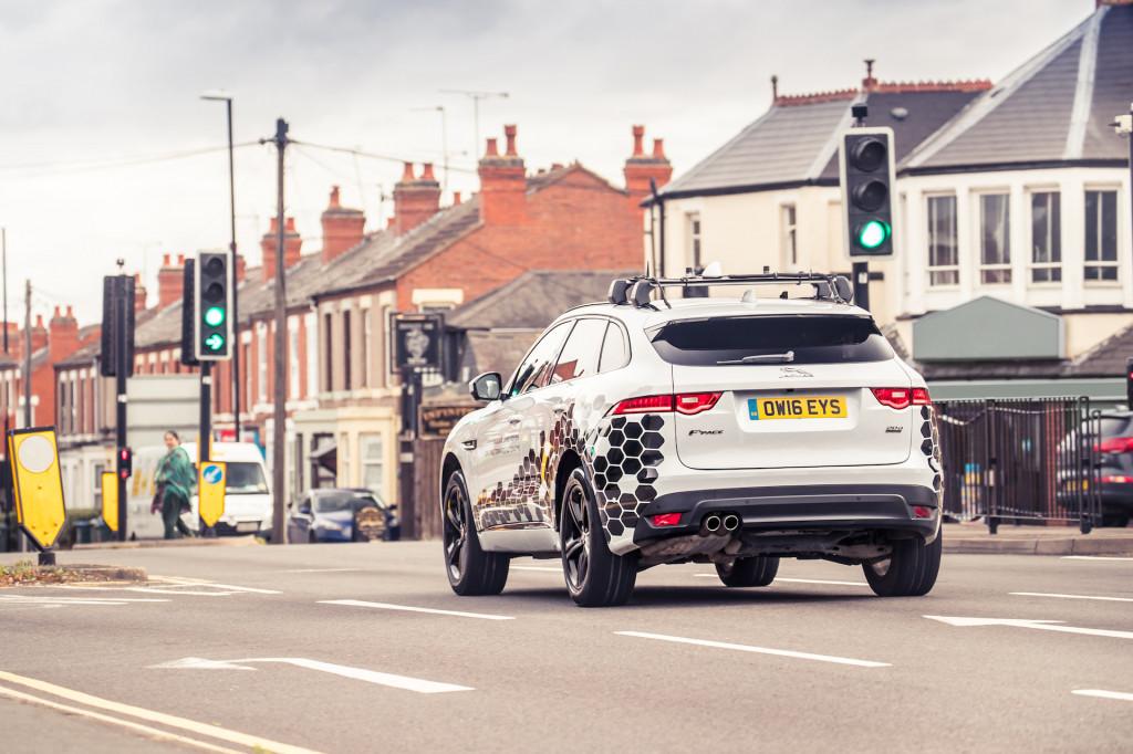 Jaguar-Land Rover Green Light Optimal Speed Advisory system