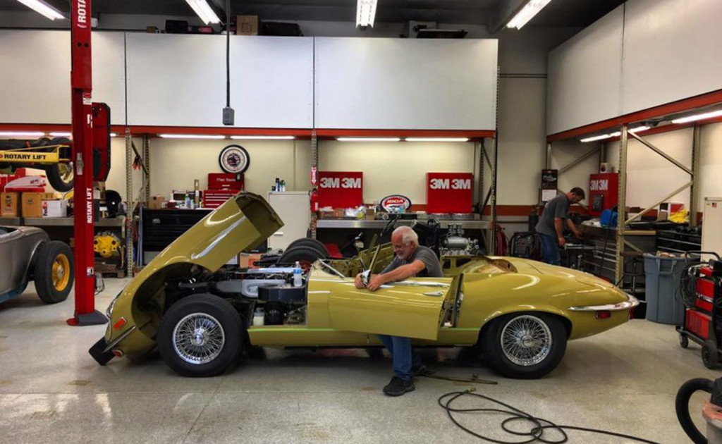 Chip Foose attempts to make the world's most beautiful car prettier