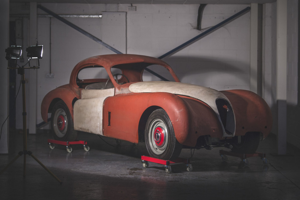 1954 Jaguar XK120 barn find headed to auction, one of just 151 built