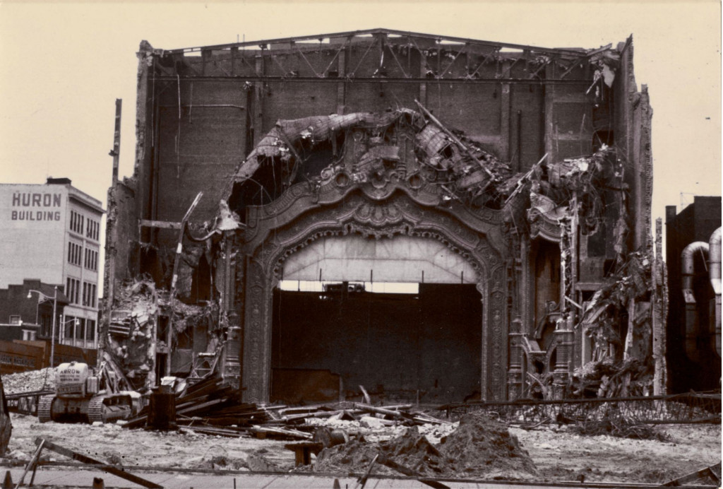 Paramount Theatre, Toledo; courtesy of the Toledo-Lucas County Public Library, obtained from http://