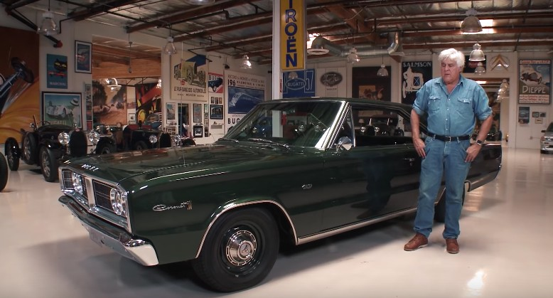 Jay Leno Gets Cozy With His Dodge Coronet