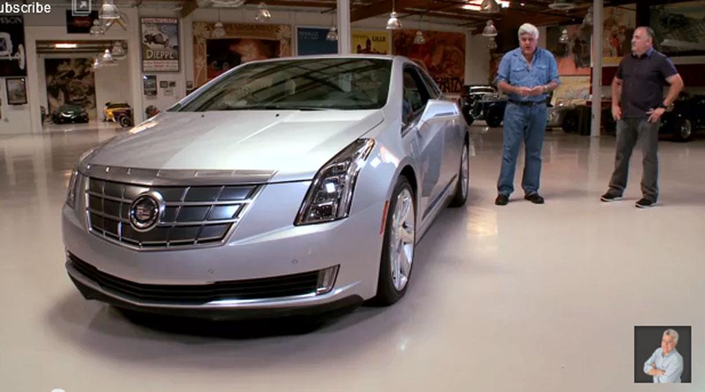 Jay Leno and the 2014 Cadillac ELR