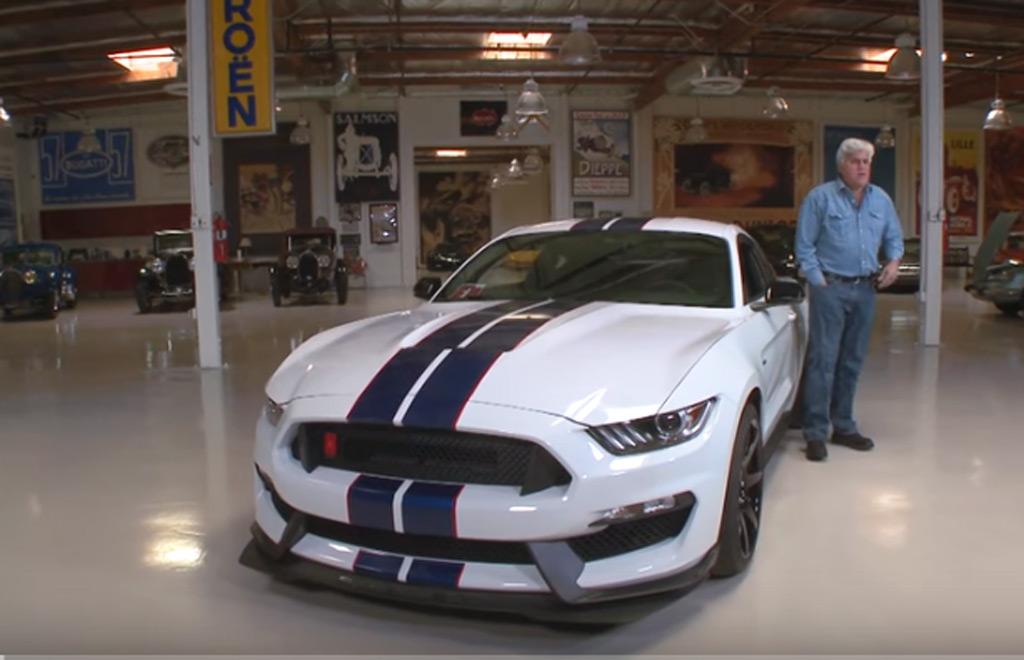 Jay Leno Revealed As One Of The  Owners Of A  Ford Mustang Shelby Gtr Video
