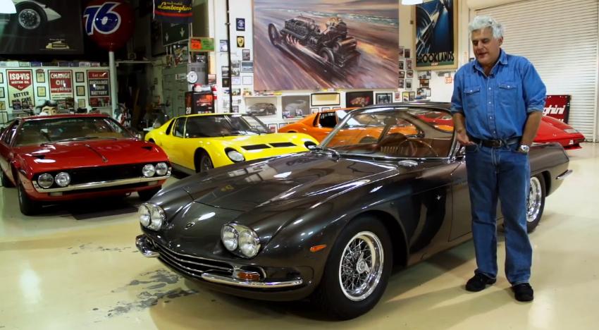 Gmc San Diego >> A Lamborghini 350 GT visits Jay Leno's Garage