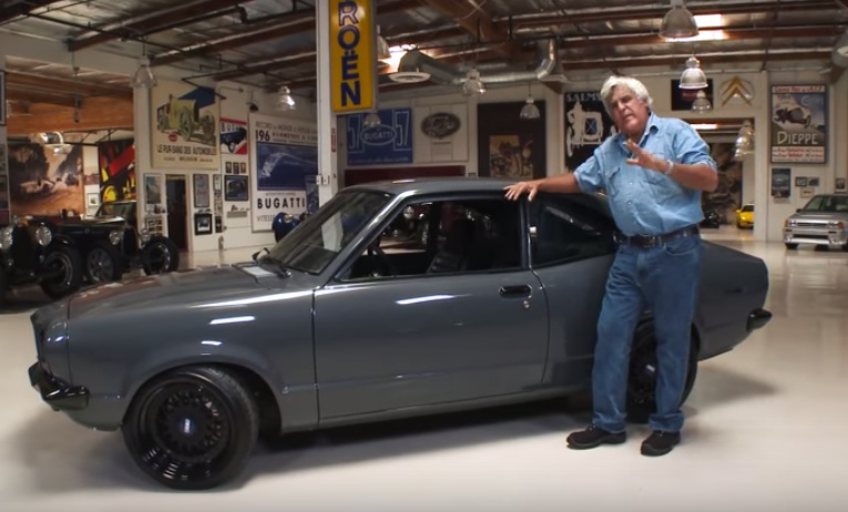Jay Leno Drives RX-7-Powered 1973 Mazda RX-3: Video