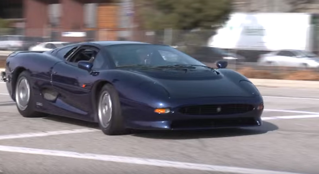Jay Leno Drives Rare Jaguar Supercar