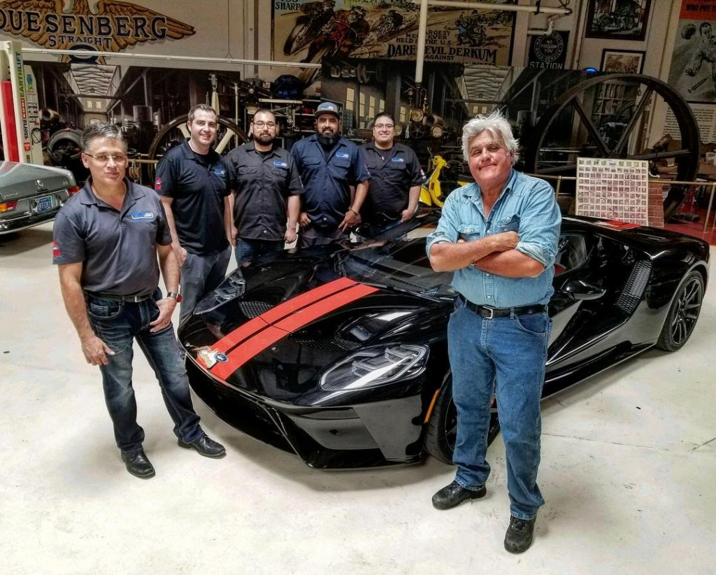 Jay Leno's Ford GT window sticker reveals $450,750 base price