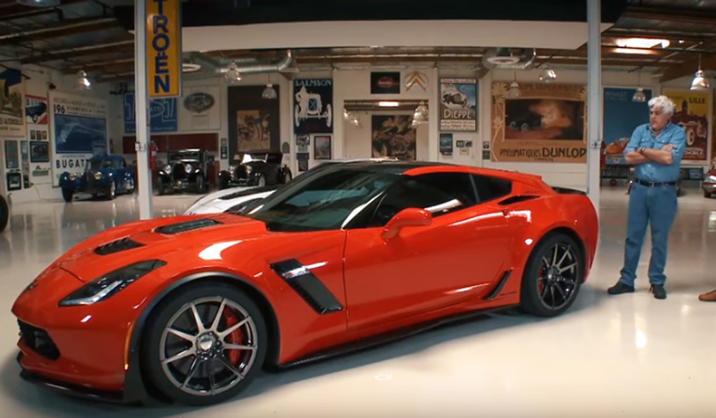 Corvette Based Callaway Aerowagon Pays A Visit To Jay Leno