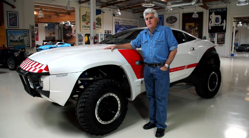 Jay Leno with the Local Motors Rally Fighter