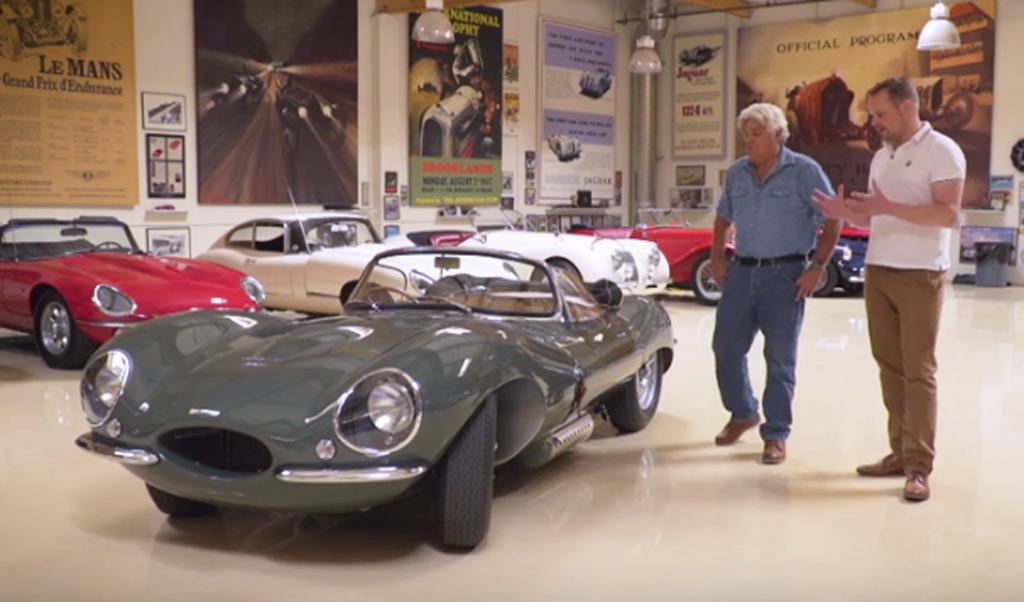 Jay Leno Inspects The New 1957 Jaguar Xkss