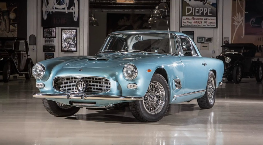 Quest Auto Parts >> Jay Leno Shows Off His Restored 1962 Maserati 3500 GTi: Video