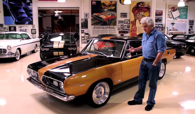 Porsche Driving School >> Jay Leno Examines The Old School Muscle Of A '67 Hurst Barracuda: Video