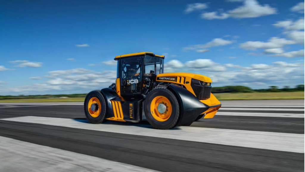 The world's fastest tractor hits 135 mph, sets Guinness World Record