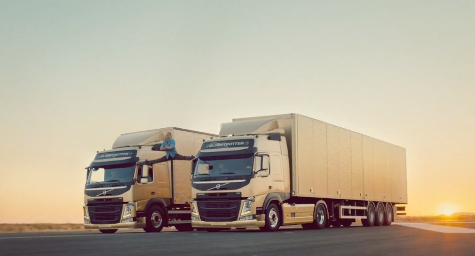 Jean-Claude Van Damme In Best Ad Ever For Volvo Trucks