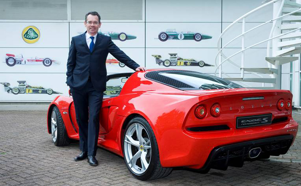 Lotus CEO Reveals Plans For Chinese-Built SUV