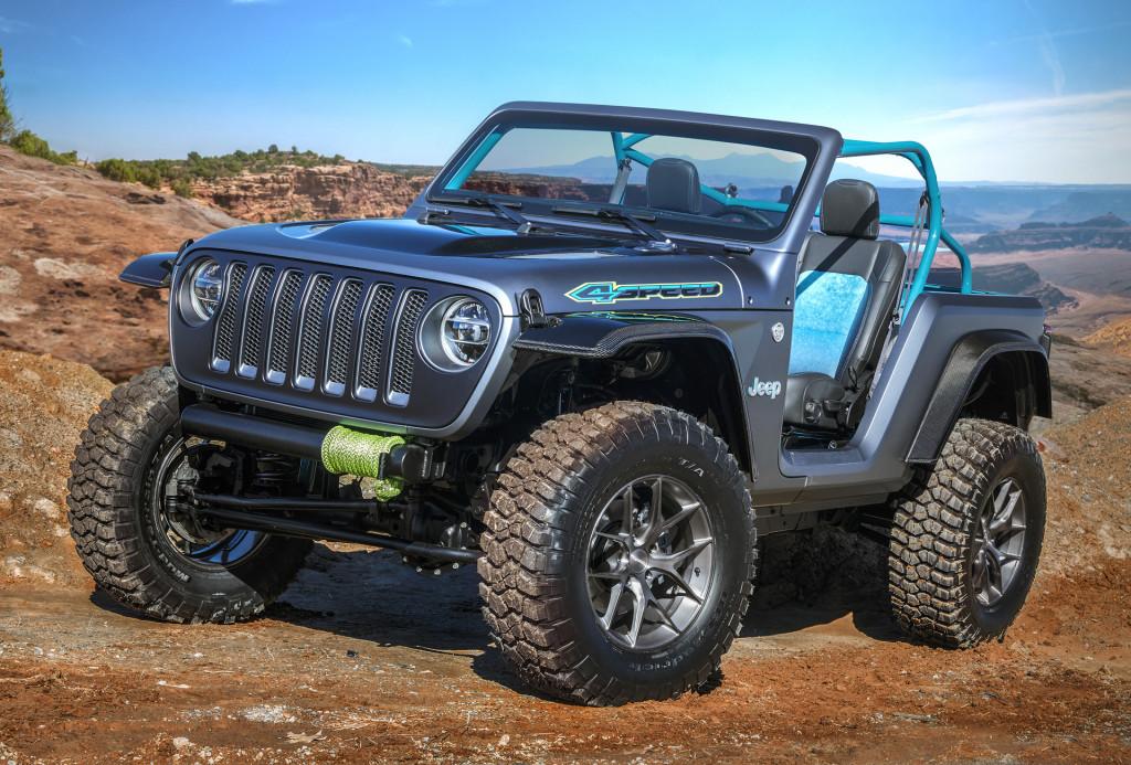 Jeep 4Speed concept, 2018 Moab Easter Jeep Safari