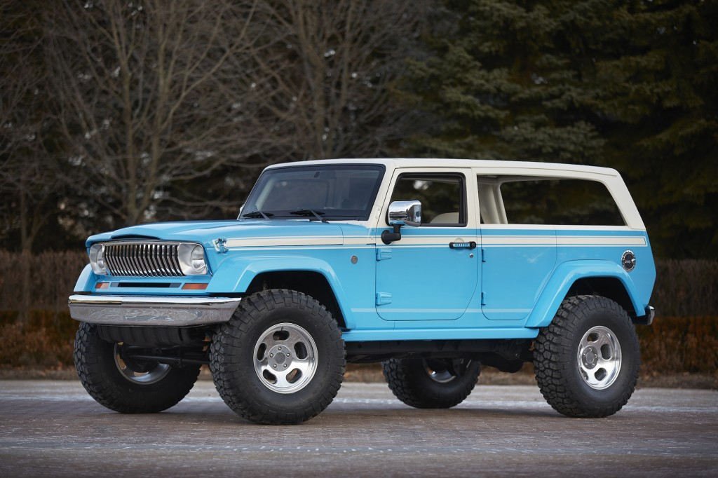 Jeep Concept 2016 >> Awesome Jeep Chief Concept Leads Six Others To Moab Easter Jeep Safari