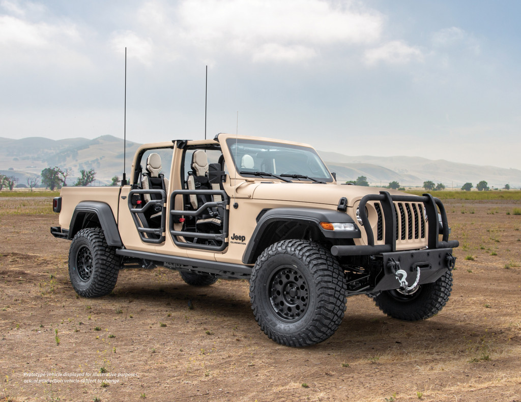 AM General and Jeep partner up for Gladiator XMT light tactical concept truck