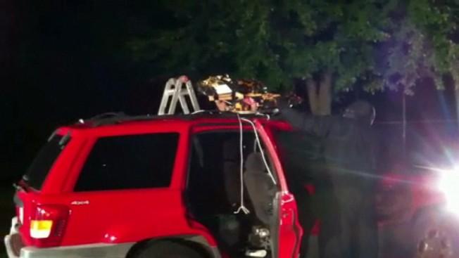 Jeep Grand Cherokee Stuff With Fireworks