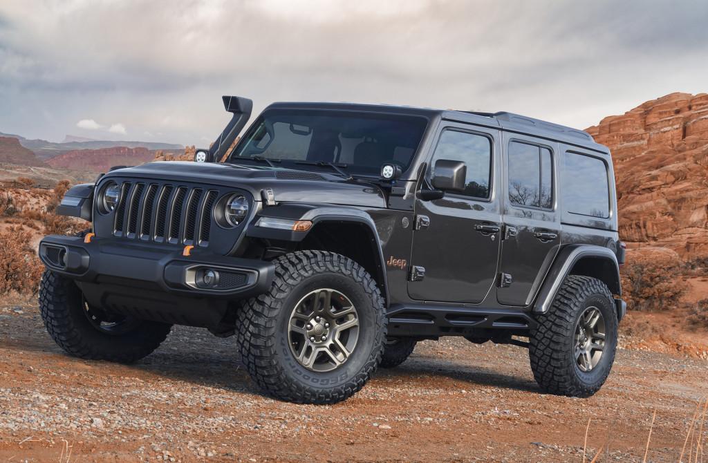 Jeep J-Wagon concept, 2018 Moab Easter Jeep Safari