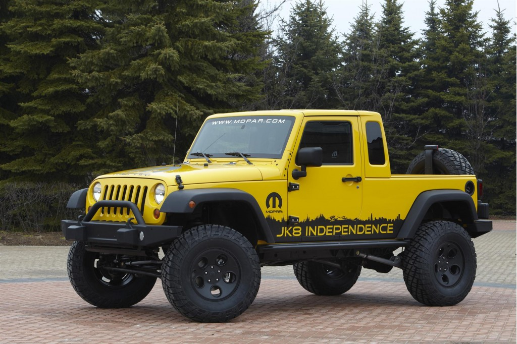 Jeep JK-8 Independence pickup conversion package