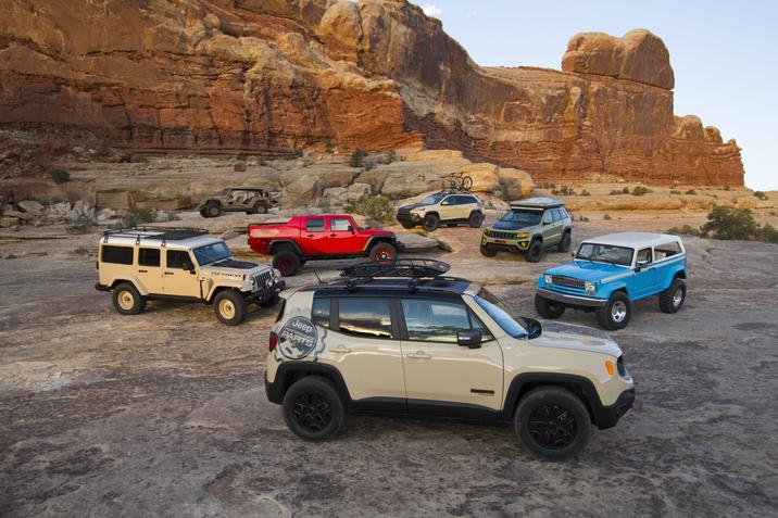 Jeep Performance Parts >> Jeep Showcases New Performance Parts At Moab Easter Safari