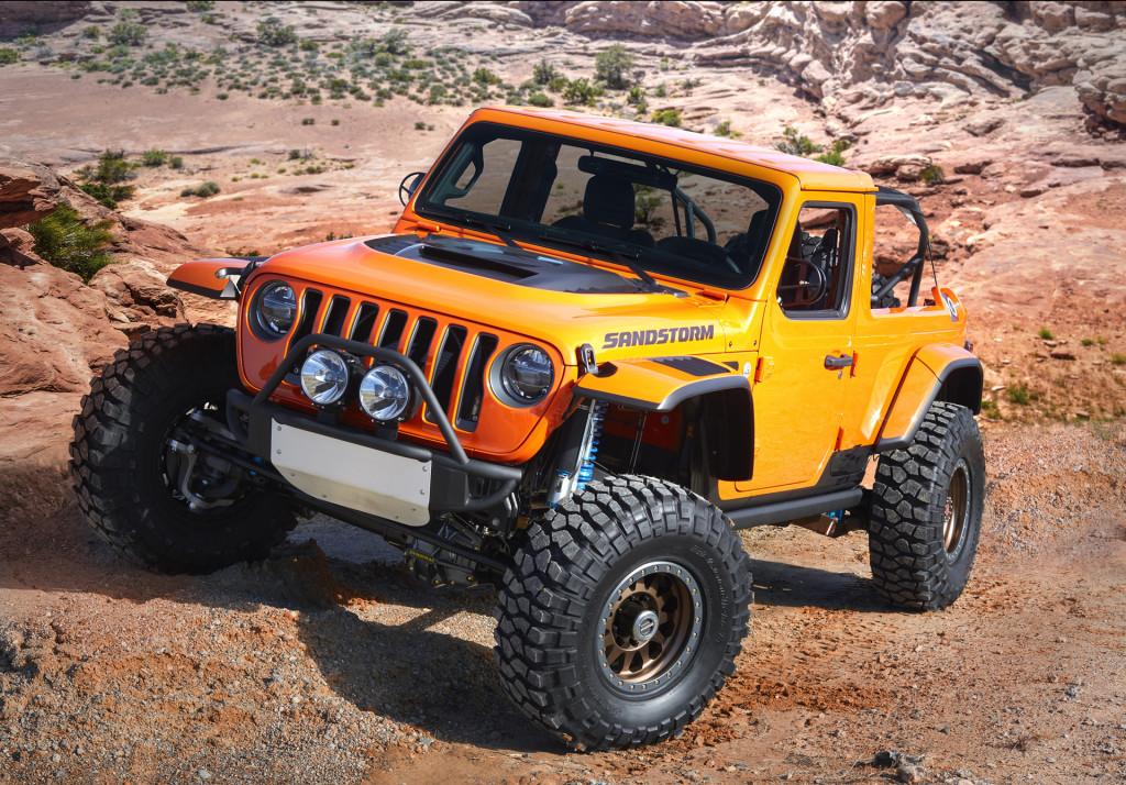 Jeep Sandstorm concept, 2018 Moab Easter Jeep Safari