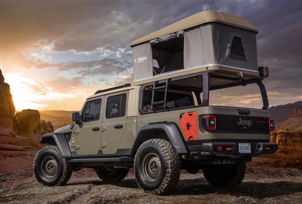 Concepto de Jeep Wayout