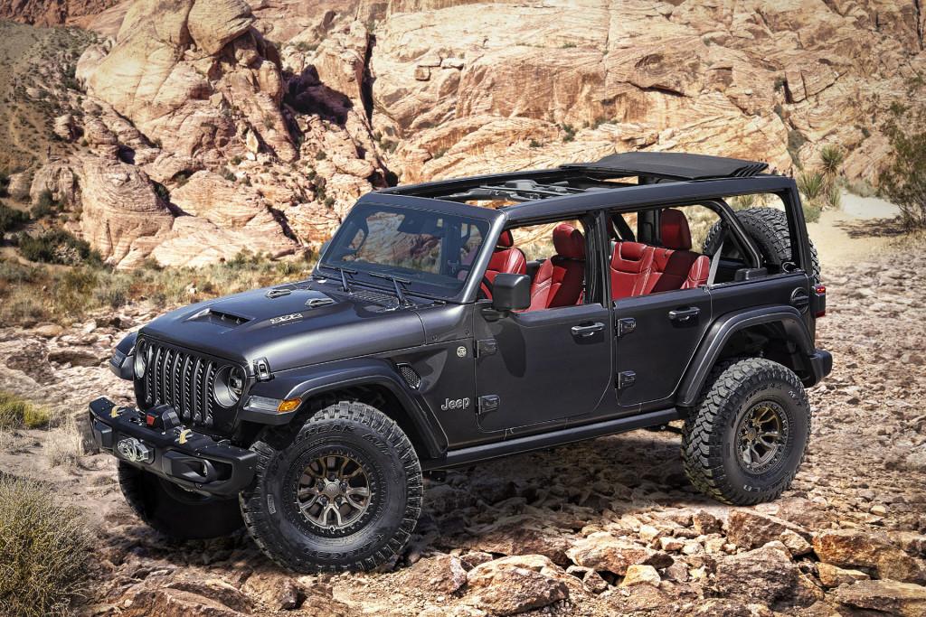 20 Jeep Wrangler Rubicon 20 V-20 spy shots Spesification