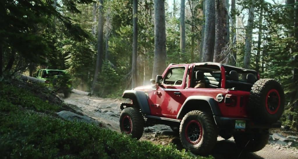 Jeep Wrangler Rubicon modified by Mopar