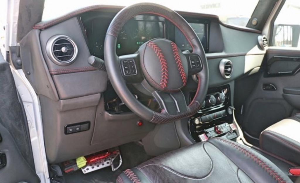 Custom Jeep Wrangler 6x6