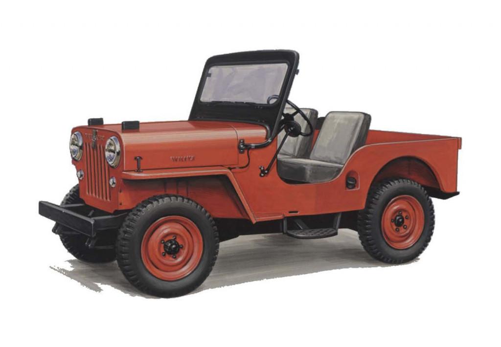 1953 Willys Motors CJ-3B