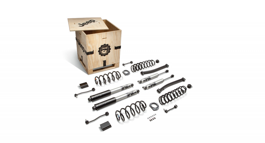 Jeep's 2.0-inch lift kit for EcoDiesel-powered Wrangler, Gladiator