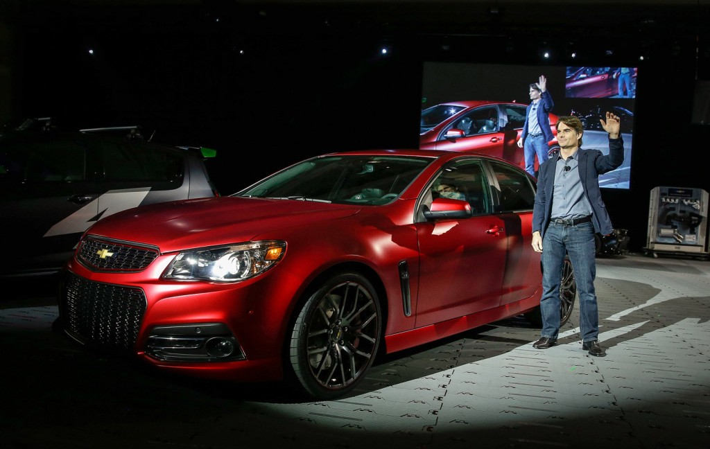 Jeff Gordon Chevrolet SS concept, SEMA 2013