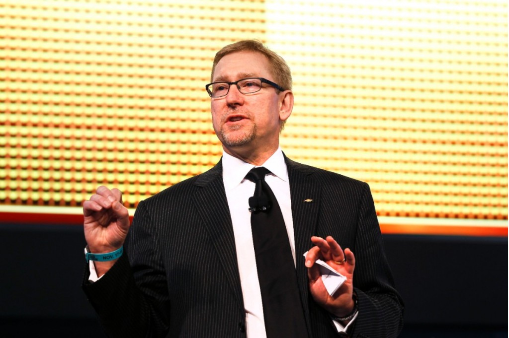 Joel Ewanick at the 2010 LA Auto Show