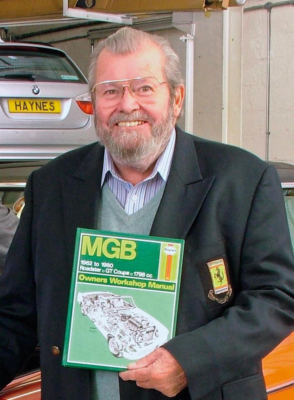 John Haynes, creator of the Haynes Manual