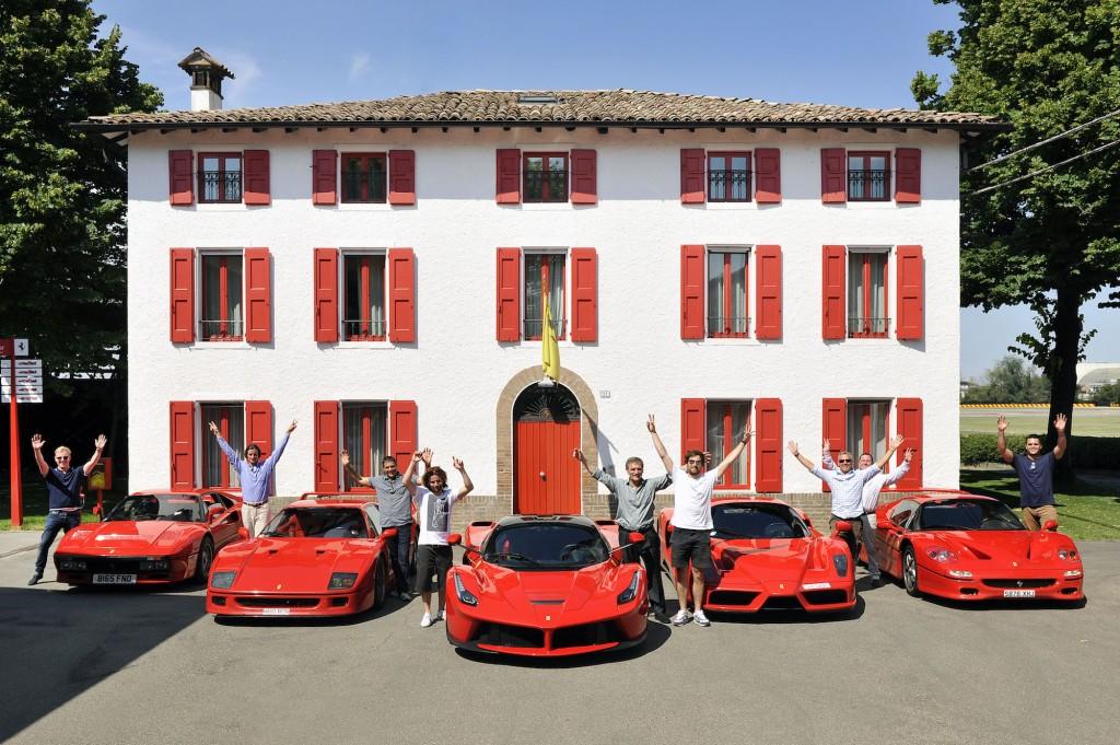 Jon Hunt takes ultimate Ferrari roadtrip to pick up new LaFerrari